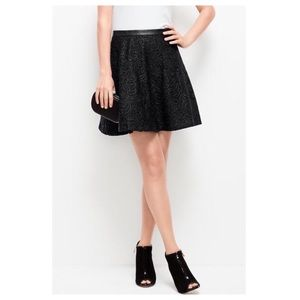 Ann Taylor floral lace full skirt
